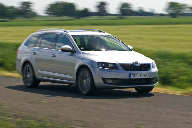 Test: Škoda Octavia Combi 2.0 TDI Laurin & Klement - Simply luxus
