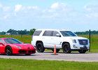 Hennessey postavilo upravený Cadillac Escalade do souboje proti Ferrari 488 GTB. Průběh vás možná překvapí