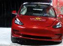 Euro NCAP 2019: Tesla Model 3