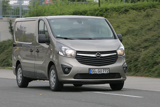 Test: Opel Vivaro